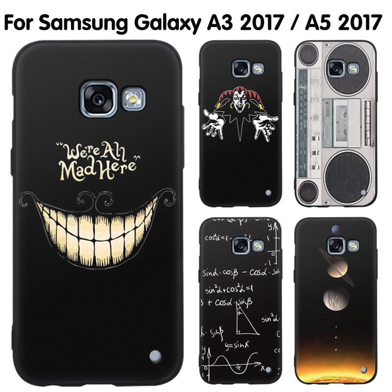 Galleria fotografica EiiMoo Phone Case For Samsung Galaxy A3 2017 Case 4.7 Cartoon Hard Back Cover Case For Samsung Galaxy A5 2017 Cover Coque 5.2