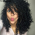 4 Colors Free PP bags curly wig Curly High Quality short Wigs Rihanna bang wigs hair style None Lace Wigs