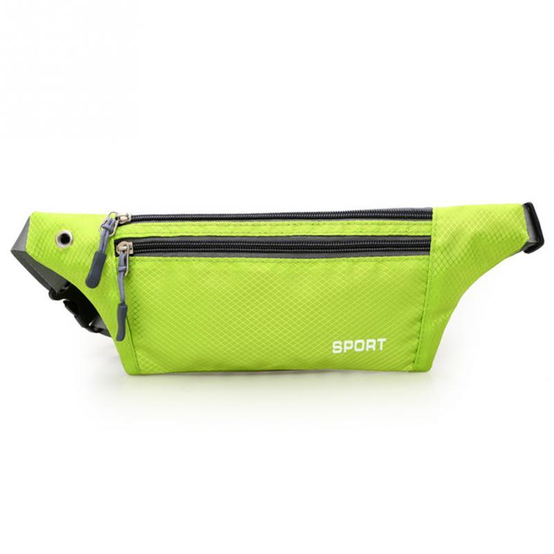 3 Layer Zipper Chest Bag Shoulder Waterproof Belt Bum Waist Pouch Zip Bag Fanny Pack 8 Colors