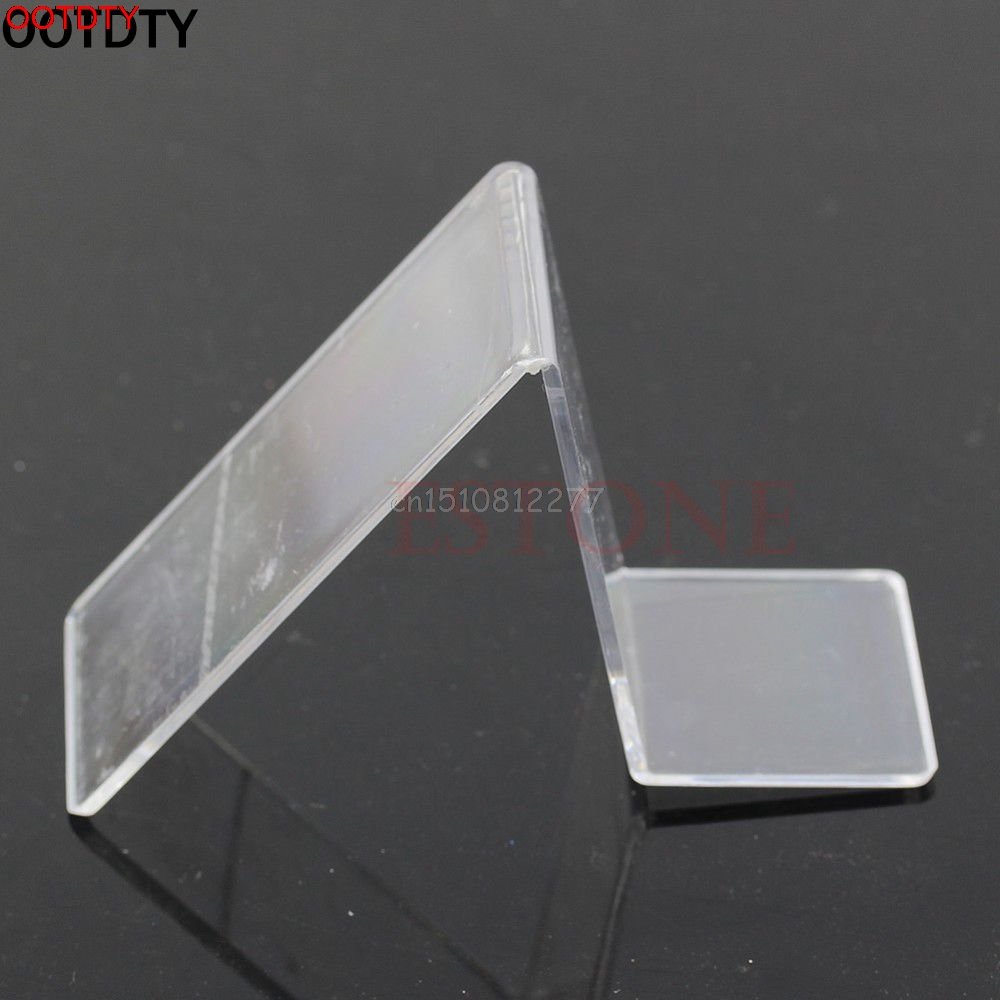 Acrylic V Shape Shoe Shop Retail Display Stand Rack Shelf #H0VH#