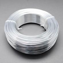1 рулон алюминиевой проволоки ювелирных изделий для самостоятельного изготовления ювелирных изделий ожерелье браслет серебряный черный 0,8 мм 1 мм 1,5 мм 2 мм Золотой 3 4 5 6 мм