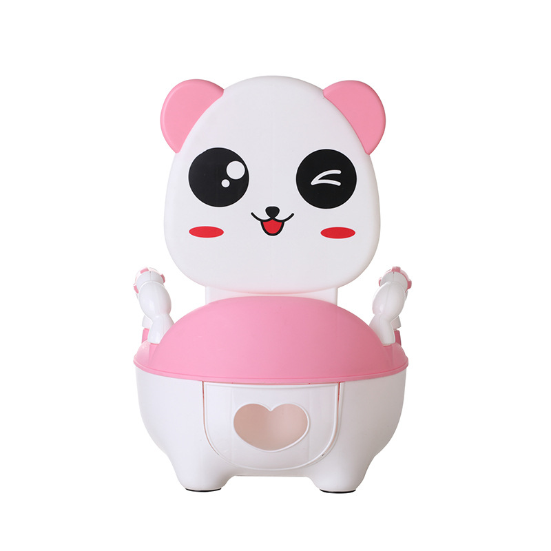 Child Pot Baby Toilet Cute Panda Leakproof Children s Potty Training Boy Girls Unisex Portable Child