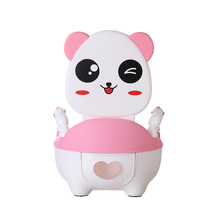 Child Pot Baby Toilet Cute Panda Leakproof Children's Potty Training Boy Girls Unisex Portable Child Kids Pot Baby Toilet Seat