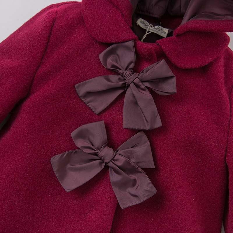 ff8df834645b new appearance 2ddbd c7bd4 dave bella burgundy toddler girl coat ...