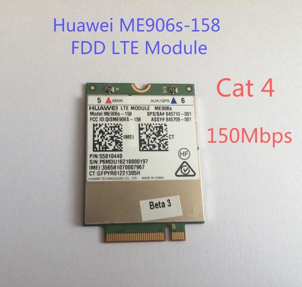 Sbloccato HUA WEI ME906S ME906S-158 + 2 pz 4g NGFF antenna NUOVO e Originale M.2 Qual banda FDD LTE 4g modulo