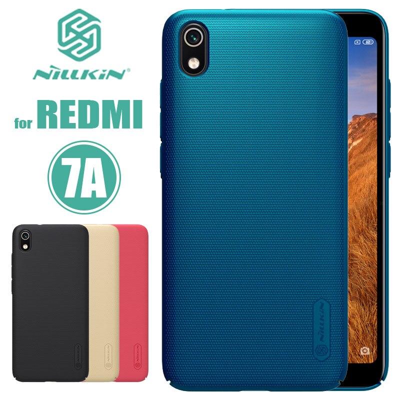 Para Xiaomi Redmi 7A 7 6 Pro Caso Nillkin Escudo Fosco Redmi 6A Rígido PC Tampa Traseira para Xiaomi Redmi 7A 6A 5A 7 6 Caso Pro Telefone