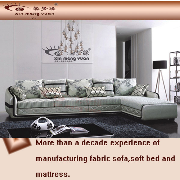 morden sofa,fabric+PU sofa,L shaped sofa,sectional sofa set A56#