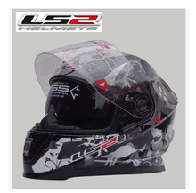 Free Shipping LS2 FF302 whole limited edition double mirror anti-fog helmet motorcycle helmet racing helmet / 8 jersey