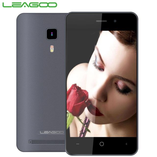 Original Leagoo Z1C Quad Core Android 6.0 Smarphone SC7731c 1.3Ghz 8GB ROM 3MP Camera 3G WCDMA Dual SIM 1400mAh Smart Wake Phone