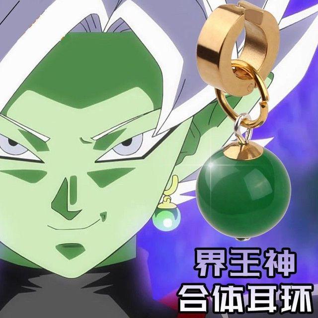 Black Goku Earring