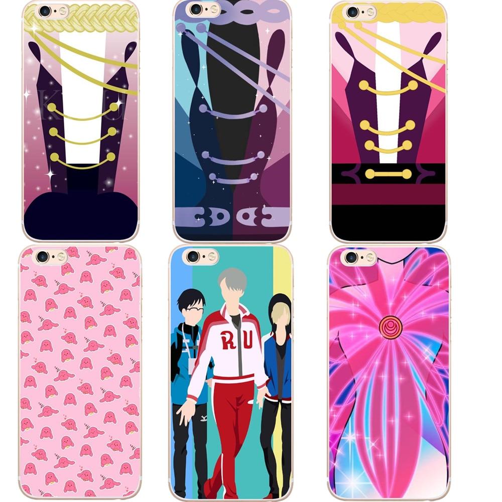 Yuri On Ice phone case Yuri!!! plisetsky tiger Hard Phone Cases For iPhone 7 7Plus 6 6s Plus 5 5S SE Black Cover Capa