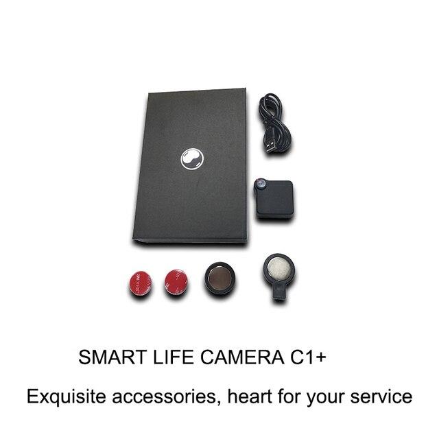 C1+ WIFI P2P Mini Camera HD 720P CAMSOY C1 Wearable IP Camera Motion Sensor Bike Body Micro DV DVR Magnetic Clip Voice Recorder 6