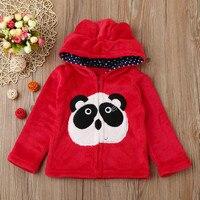 Baby Infant Kids Boys Girls Cartoon Animal Hooded Coat Cloak Tops Warm Clothes Cartoon Autumn Winter
