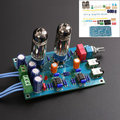 Free Shipping Factory Price DIY Class A 6J5 HIFI Headphone Amplifier Vacuum Tube Preamplifier Kit