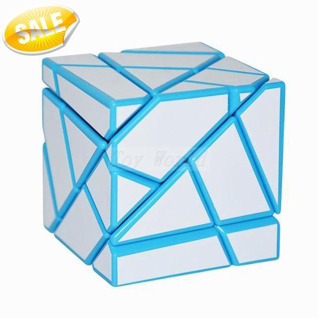 Lo nuevo FangCun Fantasma Profesional Cubo mágico cubo de 3x3x3 Puzzle Cubo Mágico Al Por Mayor Metalizado Cubiks Juguetes Educativo juguetes