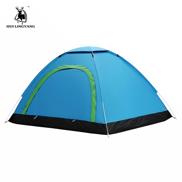 2 Person Beach Throw Tent Waterproof Outdoor Pop Up Tents Automatic Quick Open Camping Hiking Travel UV Protection Sun Shelter