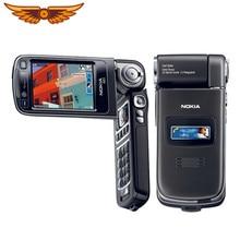 N93 oryginalny Nokia N93 3G WIFI 3.15MP aparat odblokuj obrotowe telefony komórkowe darmowa wysyłka roczna gwarancja