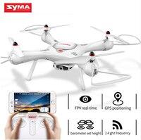 SYMA X25PRO RC Дрон самолет GPS FPV в режиме реального времени передача 720 P HD камера Квадрокоптер с автономным режимом Дроны для детей подарок