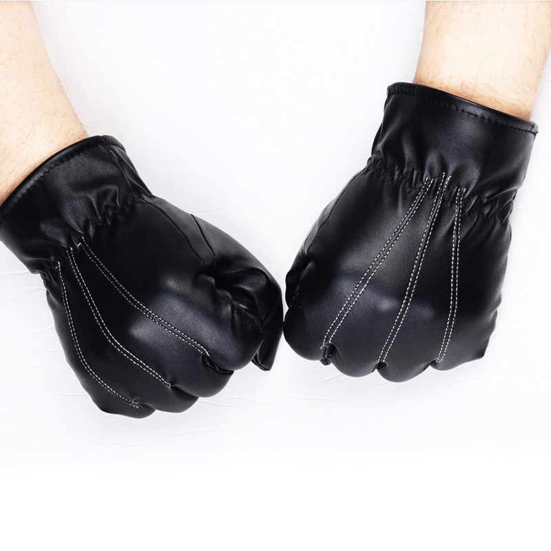 NAIVEROO Waterproof and Warm Touch Screen Gloves made of PU Leather and Conductive Fibers for Women Suitable for Spring and Winter 23