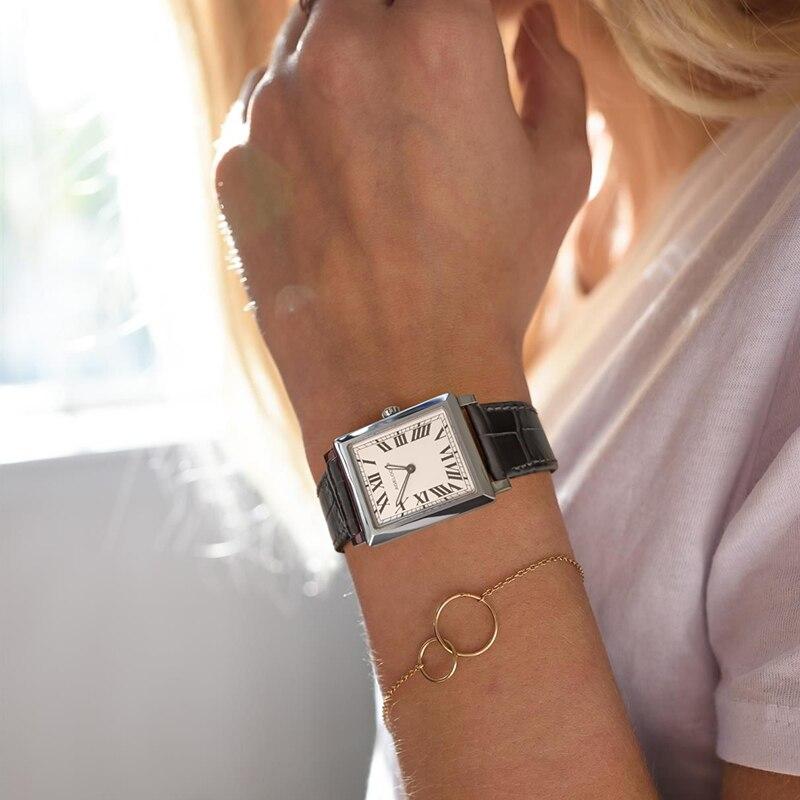 AGELOCER швейцарские роскошные Брендовые Часы женские модные элегантные Кварцевые часы Женские повседневные кожаные женские наручные часы