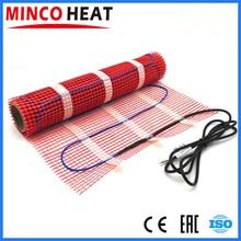 Tapis de système de chauffage électrique, 0.5 ~ 5 m2, 150W/m², avec Thermostat pour salle, Wifi, au choix