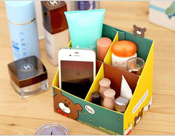 paper capacitor desktop four boxes han edition ideas diy office supplies sundry cosmetics stationery storage box diy office p47 office