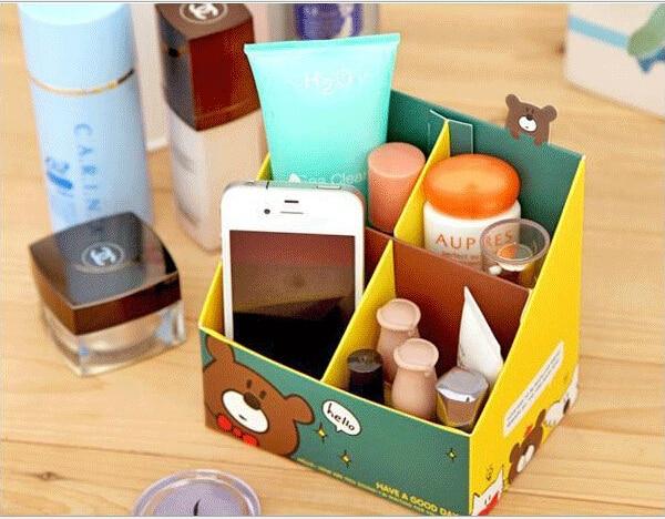 Paper Capacitor Desktop Four Bo Han Edition Ideas Diy Office Supplies Sundry Cosmetics Stationery Storage Box