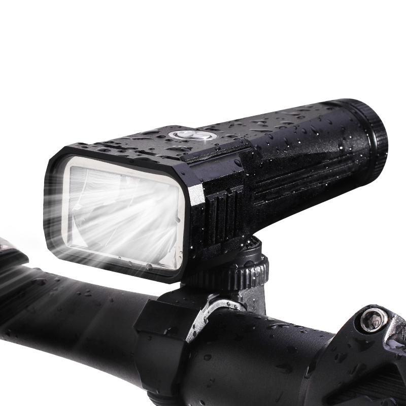 цена на 1000 Lumens 3.7V 3-Mode USB Charge LED Bicycle Light LED Flashlight (1x18650)