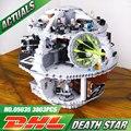 Новый Бесплатная Доставка ЛЕПИН 05035 Star Wars Death Star 3804 шт. Строительный Блок Кирпичи Развивающие Игрушки Совместимы с 10188