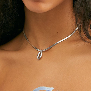 Женский винтажный ошейник YN519, ожерелье с кулонами в виде Луны Из синих акриловых бусин Ox рога, ожерелье с кулонами в виде Луны