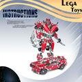 Comandante ferro Montar Blocos De Construção De Metal Escala Robô ou Montagem de Modelo de Carro De Metal Brinquedos para As Crianças Presentes Brinquedos Educativos