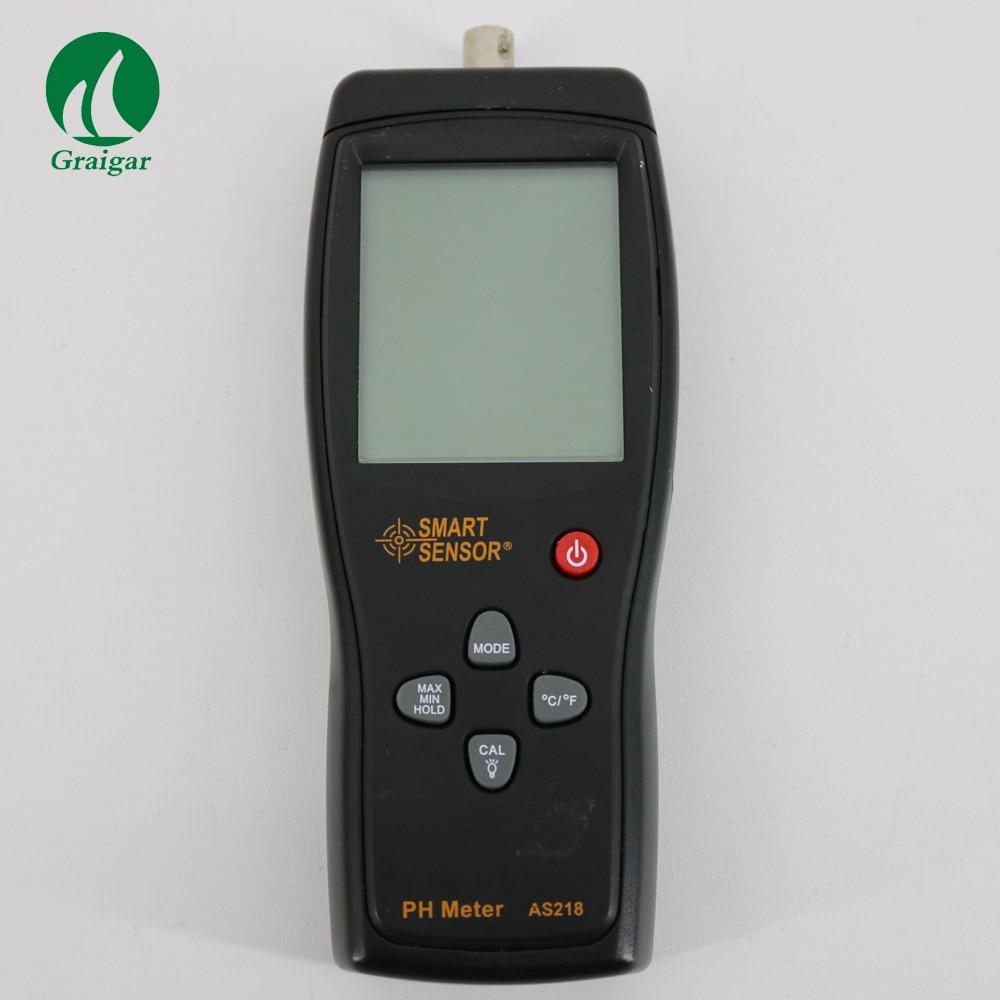 Smart Sensor AS218 Low price digital PH Meter with range 0.00~14.00pH mc 7806 digital moisture analyzer price with pin type cotton paper building tobacco moisture meter