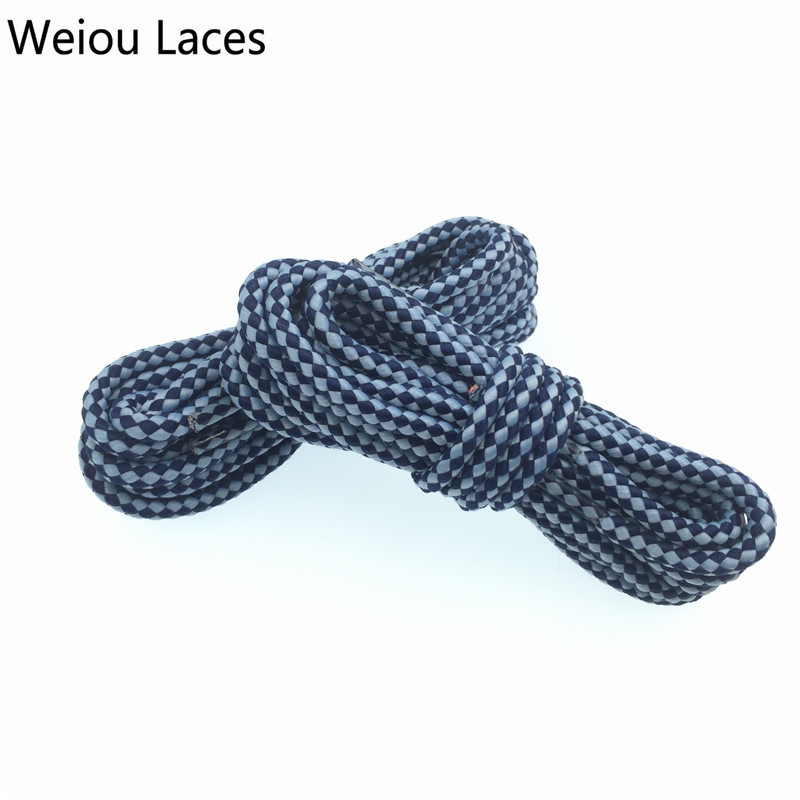 bc02152c573 Weiou Round Rope Laces Hiking Shoelaces For Martin Boots Sports Basketball  Shoe Laces Outdoor Shoestring Custom Color Wholesales-in Shoelaces from  Shoes on ...