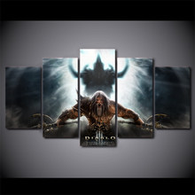 HOT Framed 5 Pieces/set Movie Poster Series Wall Art For Wall Decor Home Decoration Picture Paint on Canvas Wholesale(China)