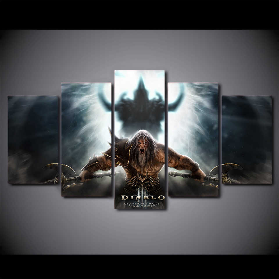 HOT Framed 5 Pieces/set Movie Poster Series Wall Art For Wall Decor Home Decoration Picture Paint on Canvas Wholesale