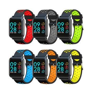 Smartwatch S9 2.5D Screen Gorilla Glass Blood Oxygen Blood Pressure IP68 Waterproof Activity Tracker Fitness Smart Watch
