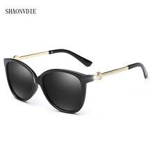 Новое Прибытие Марка дизайнер женщины Солнцезащитные Очки поляризованные vintage Солнцезащитные очки для женщин известный óculos-де-сол мужской высокое качество