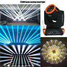 7R Шарпи 230 W перемещение головы луч света с 6 Стекло гобо Сенсорный экран 16+ 8 Prism для осветительное оборудование ди-джеев вечерние события