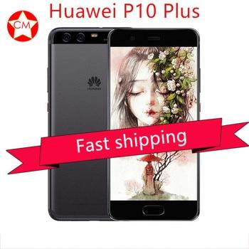 Global Firmware Huawei P10 PLUS 6G 64GB Full 4G LTE Band Smartphone Octa Core 2.4GHz 5.5 2560*1440 Dual Rear Camera 20MP+12MP smartphone