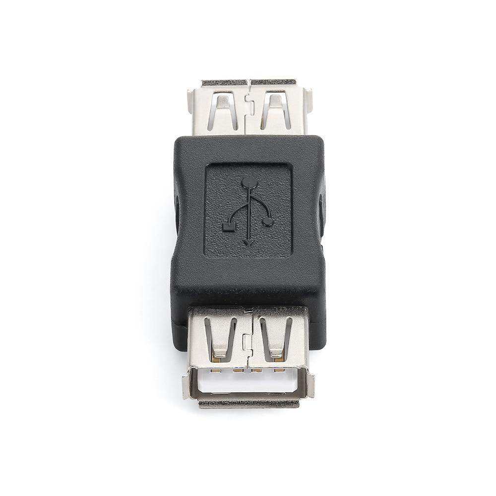 New USB 2.0 Plug A Female To Female Coupler Cord Adapter DJA99