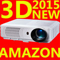 2015 new arrive SV-226 1080P Brirghtest 3000lumens Native Full HD Led Digital Smart 3D Home Theater Projector  for player Video