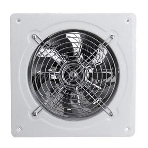 Image 2 - الحار! 4 بوصة 20 واط 220 فولت عالية السرعة مروحة العادم المرحاض المطبخ الحمام معلقة جدار زجاج النافذة التهوية الصغيرة النازع Exhaus