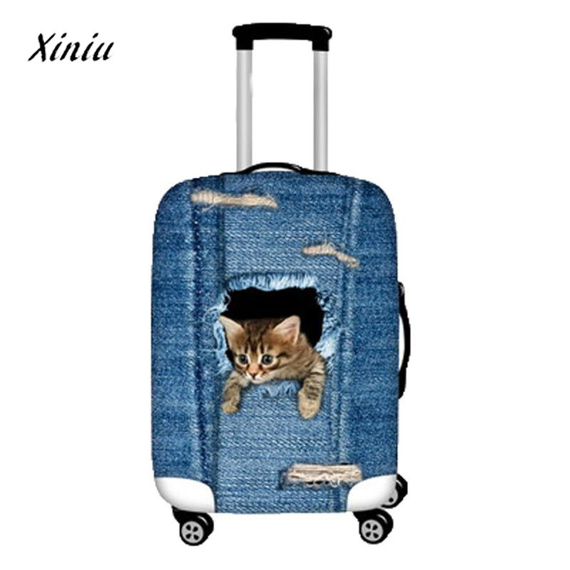 3D Animal Print Protector Dustproof Protective Bag for Suitcase Luggage Cover ravel accessories
