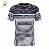 Simple creative design quick dry big Tall Size V Neck T Shirts Short Sleeve JQ1811