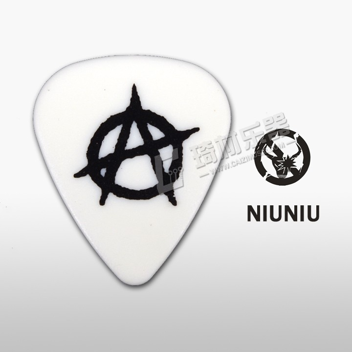 NNPICK by IM Classic Standard Shape Punk Guitar Pick Plectrum Mediator 1.0mm