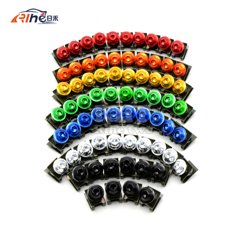 Universal 6mm motorcycle fairing screw kit set screws for yamaha tdm 850  fz1 fazer Fz6  fz6r  fz8 xj6 diversion xjr1300 fz16 universal 6mm motorcycle fairing screw kit set screws for yamaha tdm 850 fz1 fazer fz6 fz6r fz8 xj6 diversion xjr1300 fz16