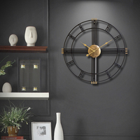 Contemporary and contracted sitting room wall clock watch fashion atmosphere individuality creative household quartz clock north