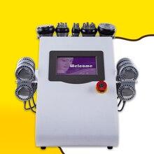 40k Ultrasonic liposuction Cavitation LLLT lipo Laser Slimming Machine Vacuum RF Skin Care