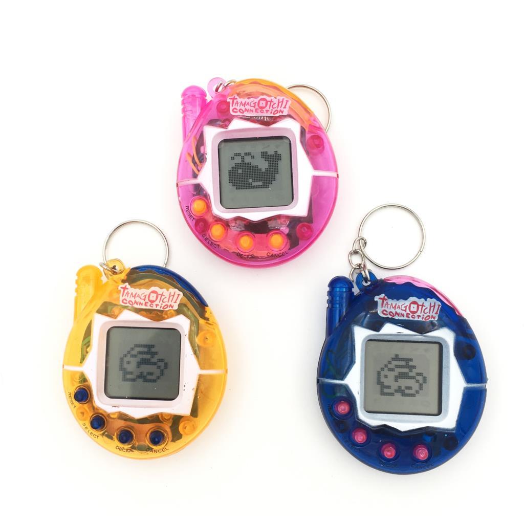 Chaud! Tamagotchi jouets électroniques pour animaux de compagnie 90 S nostalgique 49 animaux de compagnie dans un cyberjouet virtuel pour animaux de compagnie 6 styles en option Tamagochi