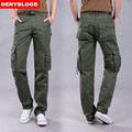 Denyblood Jeans 2016 Brand New Mens Military Cargo Pants Multi-pockets Baggy Men Casual Pants Outwear Twill Pants 570